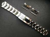 20mm Solid Stainless Steel Polished Center Oyster Quality Watch Bracelet Band Strap With Branded Hidden Clasp For Mens Vintage 36mm ROLEX EXPLORER Watch Case