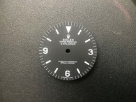 Vintage Stule Of Explorer Dial Marked Rolex Symbol With White Luminous  Fit ETA 2824 Or 2836 Or DG 2813 Or MIYOTA 8215 In 28.6mm