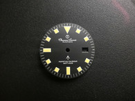 29mm Vintage Style of Rolex Black Submariner Dial Marked Broad Arrow Symbol With Yellow Lume For Mens Steel British Army Military Submariner Watch Fit DG 2813 Or MIYOTA 8215 Automatic Movement With DWO
