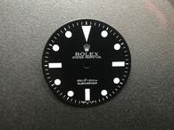 Vintage Style Of 5513 Black Submariner Dial Marked Rolex Symbol Fit Just ETA 2836 Or 2824 movement 29mm - White Luminova