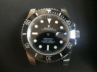 Steel Black Rolex 116610 Submariner Watch Set In Much Higher Quality With Black Ceramic Bezel And Super Luminova Fit ETA 2836 Movement With the DWO