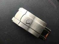 16mm Rolex Signed Stainless Steel All Brushed Hidden Clasp For New Style Of Mens 20mm Steel Oyster Watch Band Bracelet