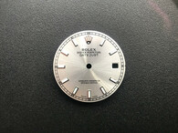 28mm 116234 Silver Sunburst Dial Marked ROLEX Symbol With Super Luminous Sticks And Date Window Fit ETA 2836 Or 2824 Or DG 2813 Or MIYOTA 8215 Automatic Movement For Mens DATEJUST Watch