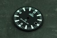 Omega Seamaster 300 Dial for ETA 2836 Or 2824 Or MIYOTA 8215 Movement White Lume With Date Military