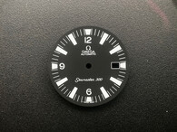 31mm Omega Seamaster 300 Dial With Super White Lume And Date Window Fit ETA 2836 Or 2824 Or DG 2813 Or MIYOTA 8215 Movement