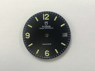 27mm Vintage Tudor Ranger Prince OysterDate Dial With Super Yellow Lume Fit ETA 2836 Or 2824 Or DG 2813 Or MIYOTA 8215