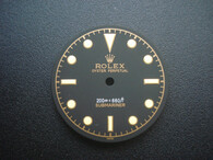 Vintage Submariner Bond Gilt Dial Marked Rolex Symbol for DG 2813 movement 29mm Yellow Lume