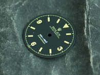 Gilt Milsub Watch Bond Dial Marked Rolex Symbol for ETA 2836 2824 Or MIYOTA 8215 Or DG 2813 Movement numbers@3 6 9