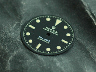 Gilt Milsub Watch Bond Dial Marked Rolex Symbol for ETA 2836 2824 Or MIYOTA 8215 Or DG 2813 Movement w/o date