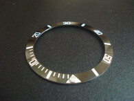 Bigger Black Ceramic Bezel Insert With White Numbers For New Style Of ROLEX 116610 SUBMARINER Watch