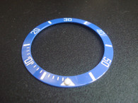 Bigger Blue Ceramic Bezel Insert With White Numbers For New Style Of ROLEX 116610 SUBMARINER Watch