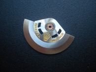 Silver Rotor #1 Marked Rolex Crown Logo Fit The ETA 2836 Or 2824 Or 2834 Movement For Mens Watch