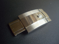 Rolex Signed Stainless Steel Hidden Clasp For New Style Of Mens 20mm Steel Oyster Watch Band Bracelet