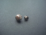 7mm Steel Screw Crown Marked Rolex Logo For Submariner Watch Fit ETA 2836 Or 2824 Or 2813 Or 8215 Automatic Moverment