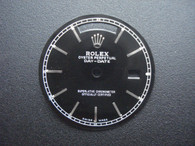 29mm Black Dial Marked Rolex Symbol With Silver Sticks For Mens Steel DAY-DATE Watch Fit ETA 2836 Or DG 2813 Automatic Movement