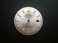116233 28.6mm Silver Sunburst Dial Marked Rolex Symbol With Golden Luminous Sticks For Mens Golden Or 2-tone DATEJUST Watch Fit DG 2813 Or MIYOTA 8215 Automatic Movement With DWO
