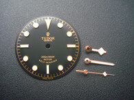 30.5mm Tudor Heritage Black Bay 79220 Dial Marked Rose Logo And Rose Golden Hands With Golden Symbol And Super Green Luminova Fit ETA 2824 Or 2836 Movement And 41mm Watch Case