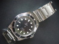 Tudor Heritage Black Bay 79220B Watch Set  With Black Bezel And Super Luminova Fit ETA 2824 Movement