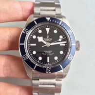 Tudor Heritage Black Bay 79220B 41mm Watch Set  With Blue Bezel And Super Luminova Fit ETA 2824 Movement