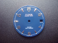 27mm Blue Dial Marked TUDOR Logo With Silver Arabic Numbers And Date Window Fit ETA 2824 Movement For Mens steel PRINCE DATE Watch