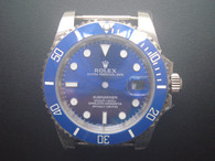 Steel Blue Rolex 116610 Submariner Watch Set In Higher Quality With Blue Ceramic Bezel And Super Luminova Fit ETA 2836 Movement Without Using the DWO