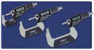 """Fowler -  0 - 3"""" Xtra-Value II Electronic Micrometer Set 54-870-103 **Tool-A-Thon pricing valid till 8/31/20**"""