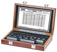Fowler - 81 Piece Rectangular Steel Gage Block Set w  Certificate 53-670-080-0 **Tool-A-Thon pricing valid till 8/31/20**