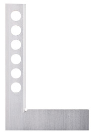 """Fowler - 8"""" Bevel Square with Bores 52-438-008-0"""