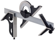 """Fowler - Square, Protractor and Center Head with 12"""" Blade 52-370-012-0 **Tool-A-Thon pricing valid till 8/31/20**"""