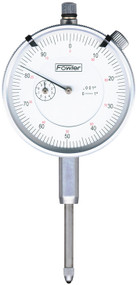 """Fowler - 1"""" Whiteface Premium Dial Indicator with Certificate of Calibration 52-520-128-0"""