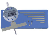 "Fowler -  0-22"" X-Depth 22-E Electronic Depth Gage 54-125-777-0 **Tool-A-Thon pricing valid till 8/31/20**"
