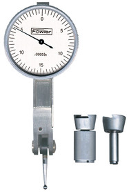 """Fowler - 1"""" Horizontal Whiteface Test Indicator 52-562-775-0 **Tool-A-Thon pricing valid till 8/31/20**"""