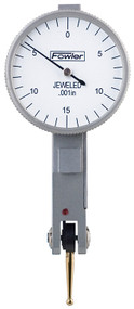 """Fowler - 1"""" Horizontal Whiteface Test Indicator 52-562-774-0  **Tool-A-Thon pricing valid till 8/31/20**"""