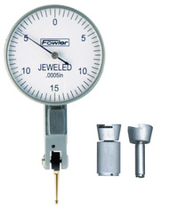 """Fowler - 1-1/2"""" Horizontal Whiteface Test Indicator 52-562-776-0 **Tool-A-Thon pricing valid till 8/31/20**"""