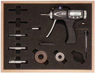 """Fowler -  3/4 - 2"""" XTH3 Holematic Pistol Grip Set w Bluetooth - 54-567-050-BT **Tool-A-Thon pricing valid till 8/31/20**"""