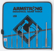 Armstrong - 7 PC Roll Pin Punch Set IN Vinyl Roll 70-557