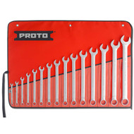 Proto - 15 Piece Full Polish Combination ASD Wrench Set - 12 Point  J1200F-T500 (In Stock)