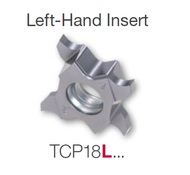 Tungaloy -  TCG18L 140-020 Tetra PVD AH7025 Altain Coated Honed Edge LH Insert 6769492 / 5 Ea / $36.80 ea