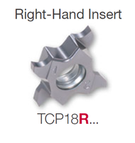 Tungaloy -  TCG18R-145-020 Tetra PVD AH7025 Altain Coated Honed Edge RH Insert 6720358 / 5 ea / $36.80 ea