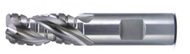 "Melin - 1/2 x 1-1/4 loc SE 3 FL P.M High Performance Alum Rough w 12% Cobalt / ERFPM-1616 / 14492 / 1/2"" Dia Full Slot Cut 182 IPM"
