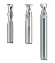 "1/16"" - 1-1/4"" Melin AXMG45 Series HP Carbide End Mill Bright / TiCN"