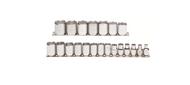 "Proto - 3/8"" Drive 21 Piece Metric 12 Point Socket Set 6mm - 26mm USA Mfg"