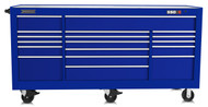"""Proto - 550S 88"""" Workstation - 20 Drawer J558846-20BL Gloss Blue or Choose your own Color  / Mfg List $14,200 **Sale Price $8950 w Free Shipping**"""