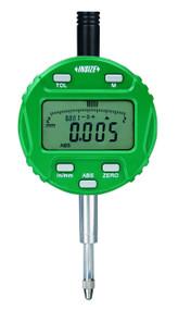 "Insize  - .5"" / 12.7 mm Precision Electronic Indicator w Lug Back 3/8 stem Dia. w Certificate - 2103-10E / Free Shipping"