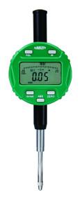 "Insize  - .5"" / 12.7 mm Precision Electronic Indicator w Lug Back Stem Diam 3/8 Dia # 4-48UNF  / Certificate - 2104-10E"