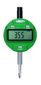 """Insize  - .5"""" / 12.7 mm Precision Electronic Indicator w Lug Back 0.00005IN/0.001MM Reading / Certificate - 2112-101E"""