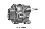 BSM Pump - S Series Pump - # 4S FLG-MTD CW WORV Helical Gear Pump - 713-940-2