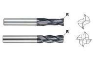 X-Power - 1/2 x 1/2 x 2 SE 2Fl Long Ultra Fine Carbide End Mill w R .020 / 93153