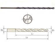 YG1 - DH510034 - 3.40 mm x 46 mm loc x 97 mm oal Carb Coolant Fed Drill MQL TiAlN (10XD)