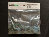 """DeerFos - 2"""" TR 80 Grit Quick Change Disc Zirconia Alumina - 50 Ea Box"""